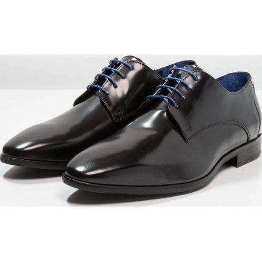 57156ad7 Azzaro VALMI Eleganckie buty noir - Eleganckie półbuty marki Azzaro ...