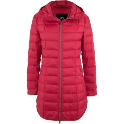 Płaszcz z lekkiego puchu bonprix ciemnoczerwony. Płaszcze damskie marki FOUGANZA. Za 239.99 zł.