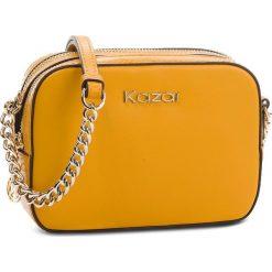 Torebka KAZAR - Metis 30107-01-23 Honey. Żółte torebki do ręki damskie Kazar, ze skóry. Za 549.00 zł.