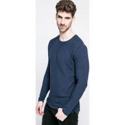 Only & Sons - Sweter. Szare swetry przez głowę męskie Only & Sons, z bawełny, z okrągłym kołnierzem. W wyprzedaży za 59.90 zł.