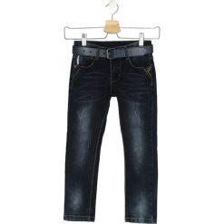 Granatowe Jeansy Settle Down. Jeansy dla chłopców marki Reserved. Za 29.99 zł.
