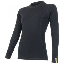 Sensor Koszulka Termoaktywna Z Długim Rękawem Double Face Merino Wool W Black Xl. Czarne koszulki sportowe damskie Sensor, z długim rękawem. Za 215.00 zł.