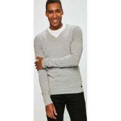 Produkt by Jack & Jones - Sweter. Szare swetry przez głowę męskie PRODUKT by Jack & Jones, z bawełny. W wyprzedaży za 79.90 zł.