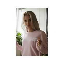 Bluza TGND Powder Pink. Czerwone bluzy damskie Harp team, z nadrukiem, z bawełny. Za 179.00 zł.