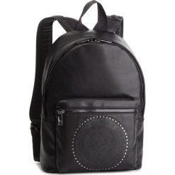 Plecak GUESS - HM6614 POL91 BLA. Czarne plecaki damskie Guess, z aplikacjami, ze skóry ekologicznej. Za 559.00 zł.