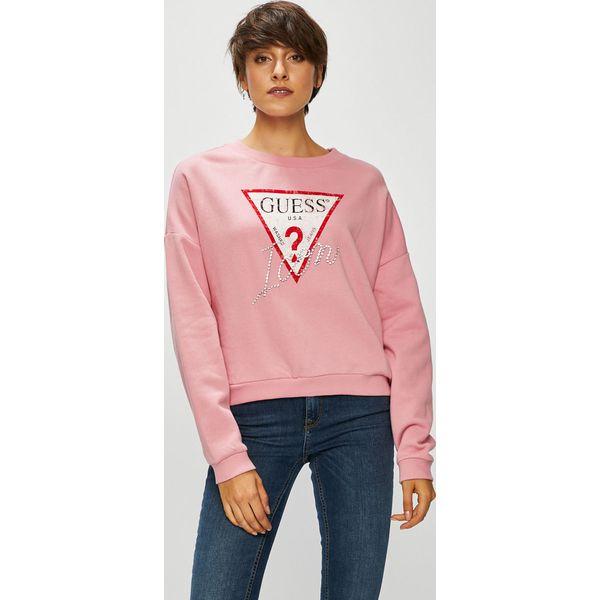 af6bba5cfcb17 Guess Jeans - Bluza - Bluzy damskie marki Guess Jeans. W wyprzedaży ...