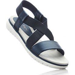 Sandały bonprix ciemnoniebieski. Sandały damskie marki bonprix. Za 79.99 zł.
