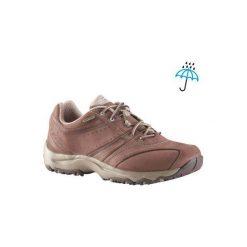 Buty sportowe damskie Nakuru. Brązowe obuwie sportowe damskie NEWFEEL, z nubiku. Za 299.99 zł.