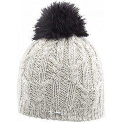 Salomon Czapka Damska Ivy Beanie Natural. Szare czapki i kapelusze damskie Salomon, z wełny. W wyprzedaży za 135.00 zł.
