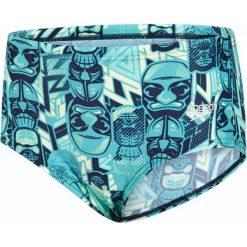Speedo Kąpielówki Allover 12cm Brief Navy/Jade/Green Glow 24. Niebieskie kąpielówki dla chłopców Speedo. W wyprzedaży za 75.00 zł.