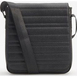 Torba na ramię - Czarny. Czarne torby na ramię męskie Reserved. Za 99.99 zł.