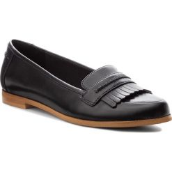 Półbuty CLARKS - Andora Crush 261271544 Black Leather. Czarne półbuty damskie Clarks, ze skóry ekologicznej. W wyprzedaży za 229.00 zł.