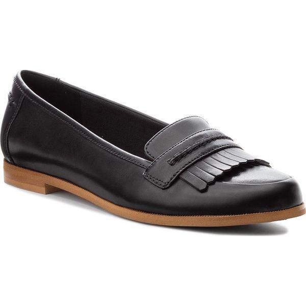 5a307884a870 Półbuty CLARKS - Andora Crush 261271544 Black Leather - Półbuty ...
