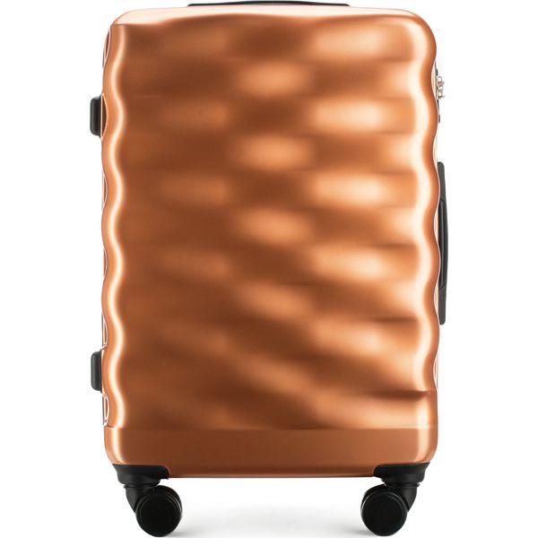 4c9476a883373 Walizka średnia 56-3H-562-60 - Brązowe walizki damskie marki ...