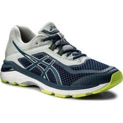 Buty ASICS - Gt-2000 6 T805N  Dark Blue/Mid Grey 4949. Niebieskie buty sportowe męskie Asics, z materiału. W wyprzedaży za 389.00 zł.