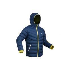Kurtka narciarska SKI-P JKT 500 WARM męska. Niebieskie kurtki męskie WED'ZE, z materiału. Za 299.99 zł.