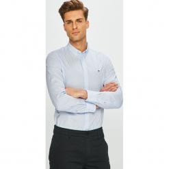 Tommy Hilfiger - Koszula. Szare koszule męskie Tommy Hilfiger, z bawełny, button down, z długim rękawem. Za 359.90 zł.