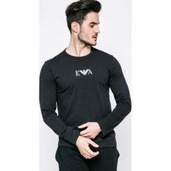 Emporio Armani - Longsleeve piżamowy. Piżamy męskie Emporio Armani, z nadrukiem, z bawełny. W wyprzedaży za 89.90 zł.