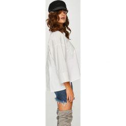 Answear - Koszula Femifesto. Szare koszule damskie ANSWEAR, z bawełny, casualowe, z klasycznym kołnierzykiem, z długim rękawem. W wyprzedaży za 139.90 zł.