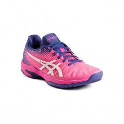 Buty do tenisa Asics Gel Solition Speed Flash damskie. Różowe obuwie sportowe damskie Asics. Za 499.99 zł.