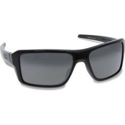 Okulary przeciwsłoneczne OAKLEY - Double Edge OO9380-1566 Polished Black/Prizm Black Iridium. Czarne okulary przeciwsłoneczne męskie Oakley, z tworzywa sztucznego. W wyprzedaży za 509.00 zł.