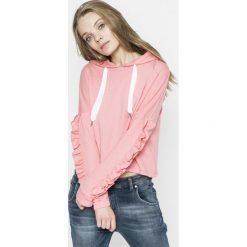Only - Bluza. Różowe bluzy damskie Only, z bawełny. W wyprzedaży za 59.90 zł.