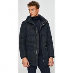 Armani Exchange - Kurtka puchowa. Czarne kurtki męskie Armani Exchange, z materiału. W wyprzedaży za 1,299.00 zł.