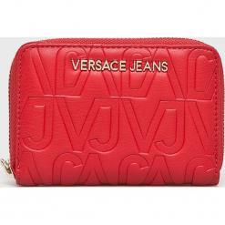 Versace Jeans - Portfel. Czerwone portfele damskie Versace Jeans, z jeansu. Za 339.90 zł.