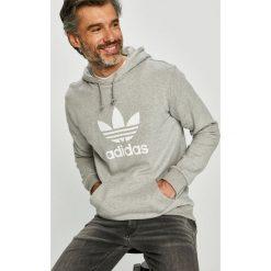 Adidas Originals - Bluza. Szare bluzy męskie adidas Originals, z nadrukiem, z bawełny. Za 279.90 zł.