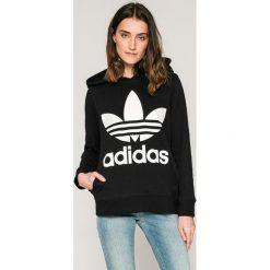 Adidas Originals - Bluza. Szare bluzy damskie adidas Originals, z nadrukiem, z bawełny. Za 279.90 zł.