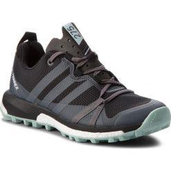 Buty adidas - Terrex Agravic W CQ1731  Cblack/Grethr/Ashgrn. Czarne obuwie sportowe damskie Adidas, z materiału. W wyprzedaży za 379.00 zł.