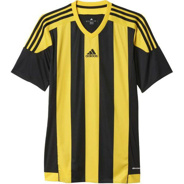 przemyślenia na temat najlepszy wybór sekcja specjalna Adidas Koszulka piłkarska Striped 15 Junior żółto-czarna r. 116 (S16143)