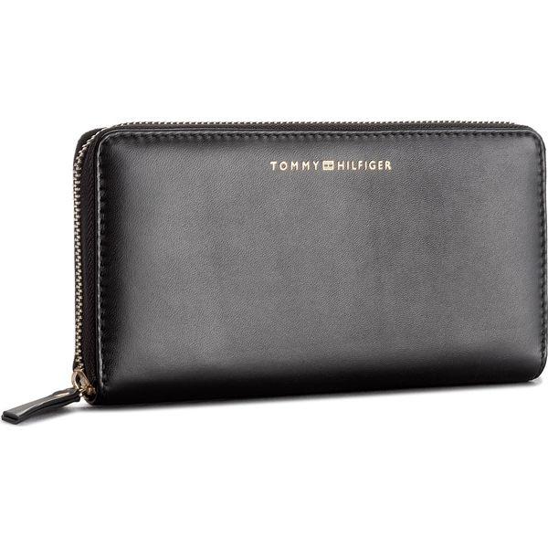 150fb89d83bd7 Duży Portfel Damski TOMMY HILFIGER - Smooth Leather Za Wallet ...