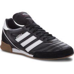 Buty adidas - Kaiser 5 Goal 677358  None/None/None. Czarne buty sportowe męskie Adidas, ze skóry ekologicznej. W wyprzedaży za 319.00 zł.