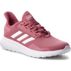 Buty adidas - Duramo 9 BB7069 Tramar/Ftwwht/Grefou. Czerwone obuwie sportowe damskie Adidas, z materiału. W wyprzedaży za 189.00 zł.