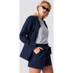 Rut&Circle Szorty w paski Firo - Blue,Navy. Niebieskie szorty damskie Rut&Circle, w paski. Za 121.95 zł.
