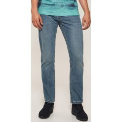 Jeansy regular classic - Niebieski. Niebieskie jeansy męskie House. Za 89.99 zł.