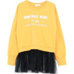 Żółta Bluza Like This Paradise. Żółte bluzy dla dziewczynek Born2be. Za 49.99 zł.