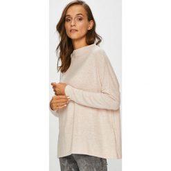 Only - Sweter. Szare swetry damskie Only, z dzianiny, z okrągłym kołnierzem. Za 119.90 zł.