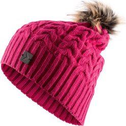 Czapka damska CAD616 - różowy - Outhorn. Czerwone czapki i kapelusze damskie Outhorn. Za 34.99 zł.