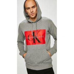 Calvin Klein Jeans - Bluza. Szare bluzy męskie Calvin Klein Jeans, z nadrukiem, z bawełny. Za 449.90 zł.