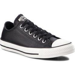 Trampki CONVERSE - Ctas Ox 161497C Black/Black/Egret. Czarne trampki męskie Converse, z gumy. W wyprzedaży za 249.00 zł.