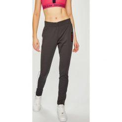 Calvin Klein Performance - Legginsy. Szare legginsy damskie Calvin Klein Performance, z bawełny. Za 399.90 zł.