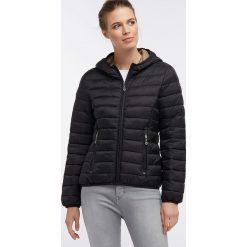 Kurtka zimowa w kolorze czarnym. Czarne kurtki męskie Dreimaster, na zimę. W wyprzedaży za 259.95 zł.