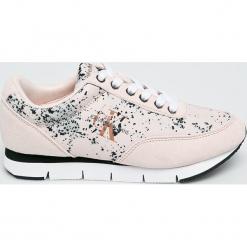 Calvin Klein Jeans - Buty. Szare obuwie sportowe damskie Calvin Klein Jeans, z gumy. W wyprzedaży za 359.90 zł.