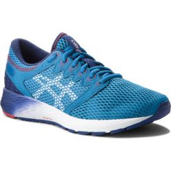 Buty ASICS - RoadHawk FF 2 1011A136 Race Blue/White 400. Niebieskie buty sportowe męskie Asics, z materiału. W wyprzedaży za 399.00 zł.