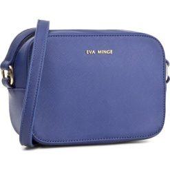 Torebka EVA MINGE - Evita 2A 17NB1372165EF 907. Niebieskie listonoszki damskie Eva Minge, ze skóry ekologicznej. W wyprzedaży za 169.00 zł.