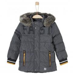 S.Oliver Kurtka Chłopięca Fast 134 Antracyt. Czarne kurtki i płaszcze dla chłopców S.Oliver, na zimę. Za 299.00 zł.