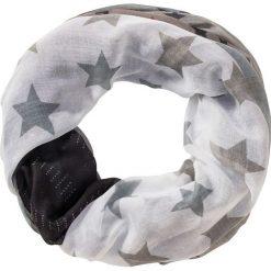 Szal koło w gwiazdy bonprix szaro-biały twill. Szaliki i chusty damskie marki WED'ZE. Za 44.99 zł.