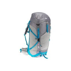 Plecak turystyczny MH500 40 l. Szare plecaki damskie QUECHUA, z elastanu. Za 249.99 zł.